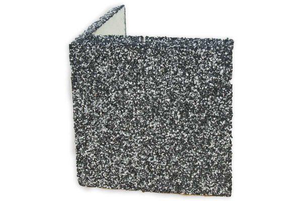 Amperla Thermo sokkelin eristyslevy nurkkakappale musta/valkoinen